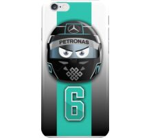 Nico ROSBERG_2014_Helmet iPhone Case/Skin