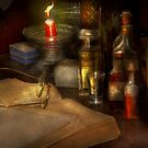 Pharmacy - A long tiring night  by Mike  Savad
