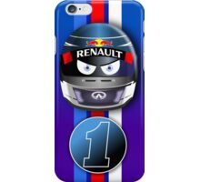 SEBASTIAN VETTEL #1_2014 iPhone Case/Skin