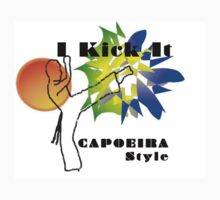 capoeira abada luanda martial arts Kids Clothes