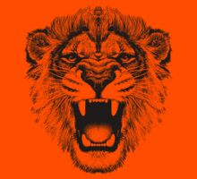 roaring lion t-shirt on lite Kids Clothes