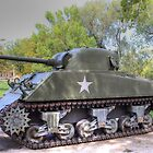 M4A3 Sherman Tank by Jimmy Ostgard