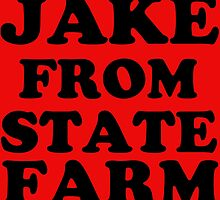 JAKE FROM STATE FARM by Divertions