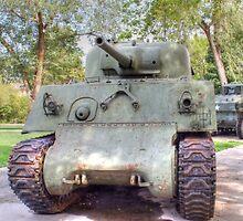 M4A3 Sherman Tank by Jimmy Ostgard