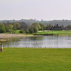 Across Carsington Water to Stones Island by Rod Johnson