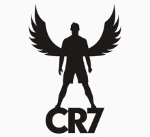 CR7 angel black Kids Clothes