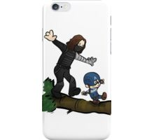 Steve and Bucky iPhone Case/Skin