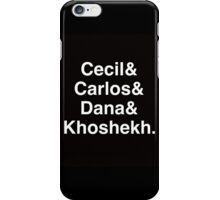 Welcome to Night Vale iPhone Case/Skin