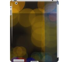 Abstract Bokeh Lights VI iPad Case/Skin