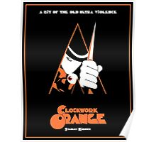 A Clockwork Orange Vintage Movie Poster Poster