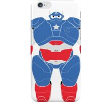 Baymax (Captain America Armored) iPhone Case/Skin