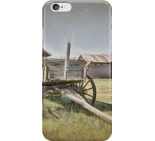 Back In 1880 iPhone Case/Skin
