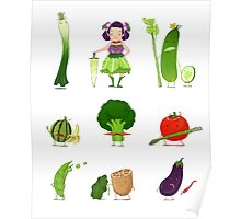 Veggie Army Poster