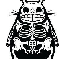 Totoro Bones by raleighstewart
