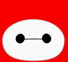 Baymax Head by Ztw1217