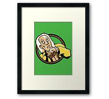 Time Travelers, Series 1 - Doc Brown (Alternate) Framed Print