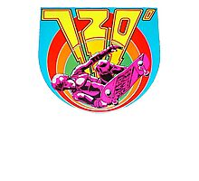 720 Degrees - Skateboard arcade game Photographic Print