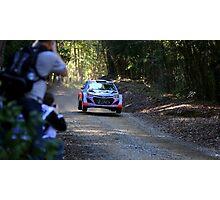 Hyundai WRC i20 Photographic Print