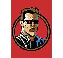 Time Travelers, Series 2 - The Terminator (Alternate) Photographic Print