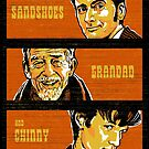 Sandshoes, Grandad & Chinny by zerobriant