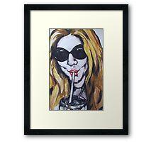 Angie Framed Print
