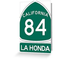 CA-84 - La Honda Greeting Card