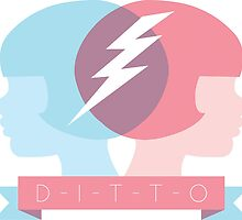 DITTO - Great minds think alike! by Emma Hampton