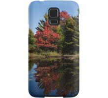 Red and Green - the Arrival of Autumn Samsung Galaxy Case/Skin