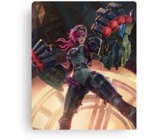 Vi League of Legends Canvas Print