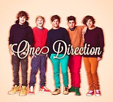 One Direction 1D by gleviosah