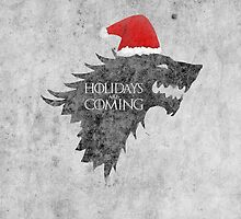 Thrones Christmas: Holidays are Coming by Alice Edwards