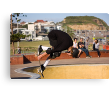 Backside Tuck-Knee Indy Air Canvas Print