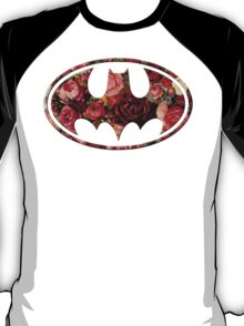 Floral Batman T-Shirt