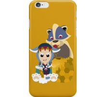 Chibi Arzuros And Baby - V.2 iPhone Case/Skin