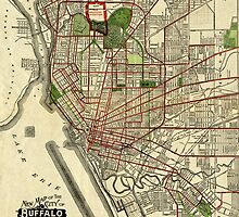Map of Buffalo 1901 by AndrewFare