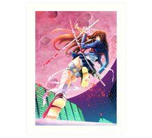 Nanaho - Blooded Moon Art Print