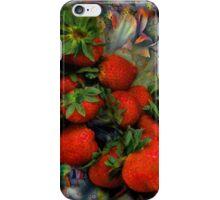 Klimt Strawberry Salad iPhone Case/Skin