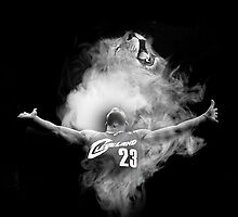 LeBron James  - Lion Powder Toss by RhinoEdits