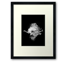 LeBron James  - Lion Powder Toss Framed Print