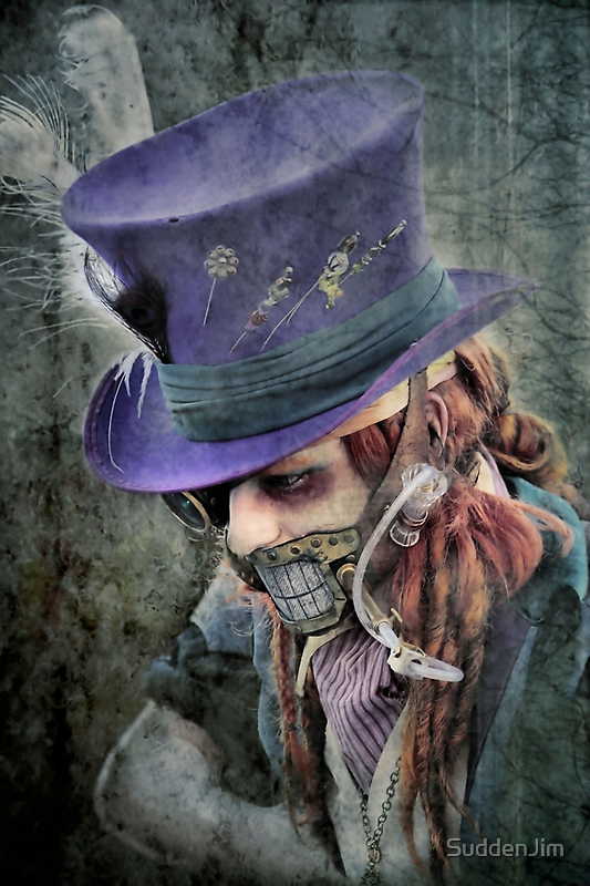 The Hatter Is Quite Mad by SuddenJim