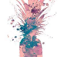 Pineapple 3 by Watercolorsart
