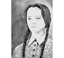 Wednesday Addams - I Hate Everything Photographic Print