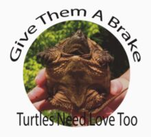 Give Them A Brake - Turtles by Sarah Ball (TheMaggotPie)