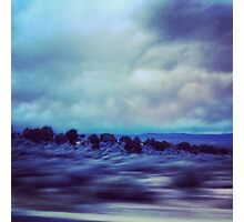 New Mexico Highway at Dusk Photographic Print