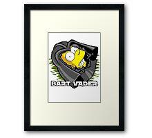 Bart Vader Framed Print