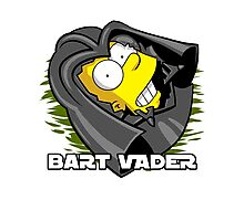 Bart Vader Photographic Print