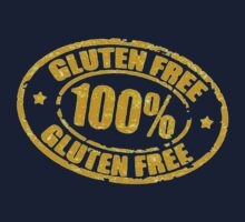 100% gluten free by tyroneredbubble