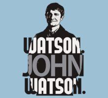 Watson. John Watson. by brookyss36