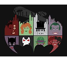 Gotham Villains Photographic Print