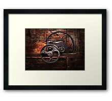 Steampunk - No 10 Framed Print